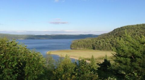 Fjord vu depuis Village Vacances Petit Saguenay 770x425