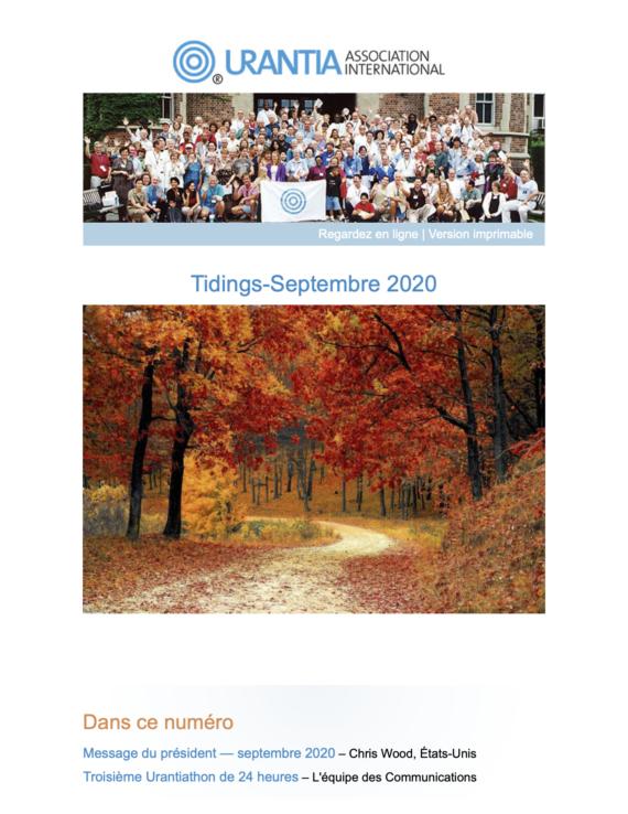 Tidings Septembre 2020